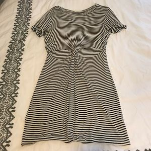 Urban Outfitters striped t-shirt dress size small